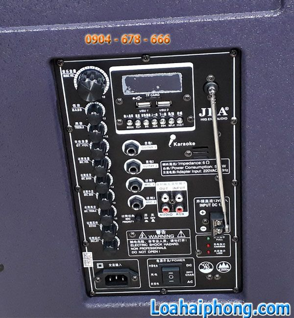 Bang mạch Loa kéo JBA 88-15