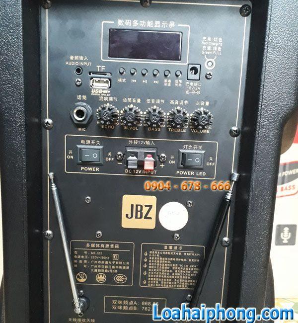 Bảng mạch Loa kéo JBZ 302
