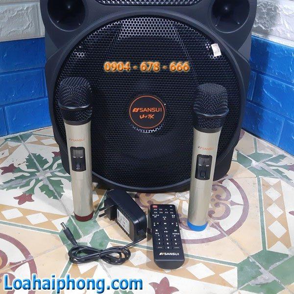 Micro Loa Kéo karaoke sansui A12-66