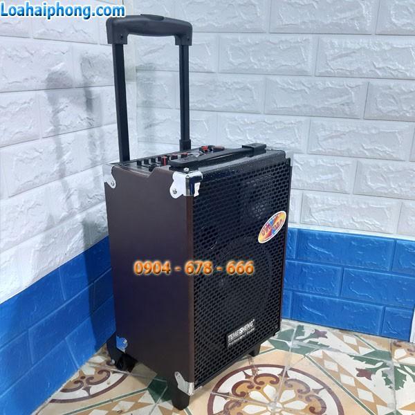 Loa kéo mini Temeisheng Q8S thùng gỗ