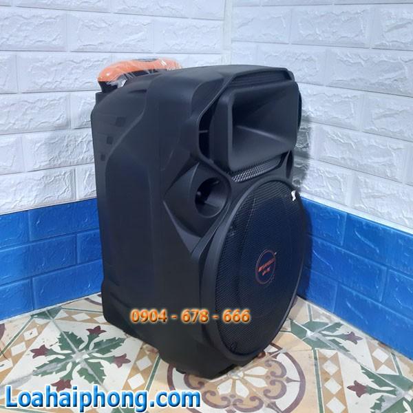 Vỏ thùng loa kéo sansui A12-66