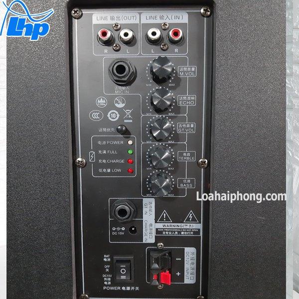 Bảng mạch loa kéo Avlight Dx10-12-6
