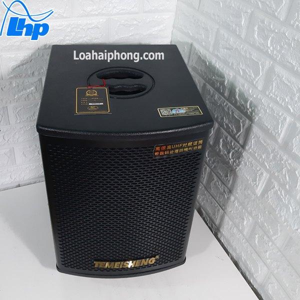 Loa kéo karaoke Temeisheng vỏ gỗ gd10-03