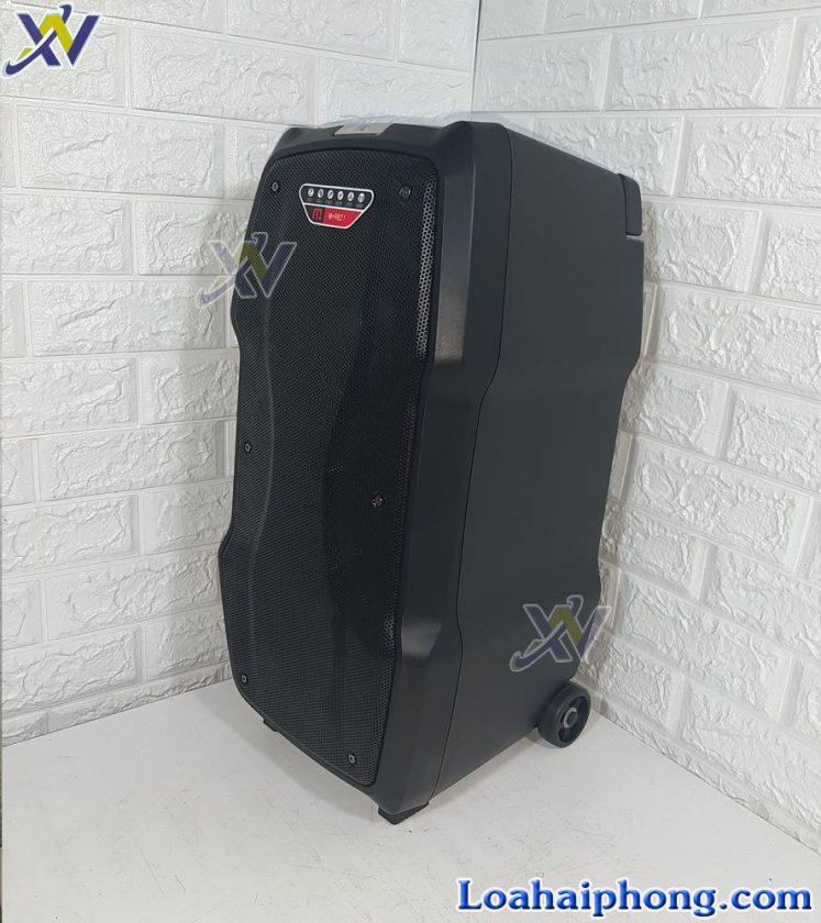 Loa kéo Malata 9821 - thiết kế vỏ thùng