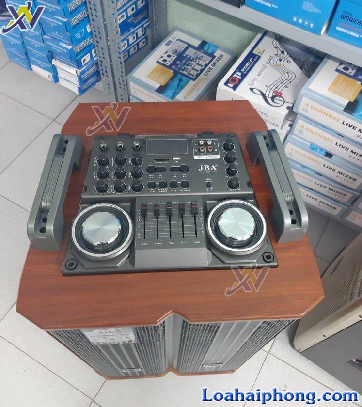 Loa keo JBA A6 C - bảng mạch hiện đại