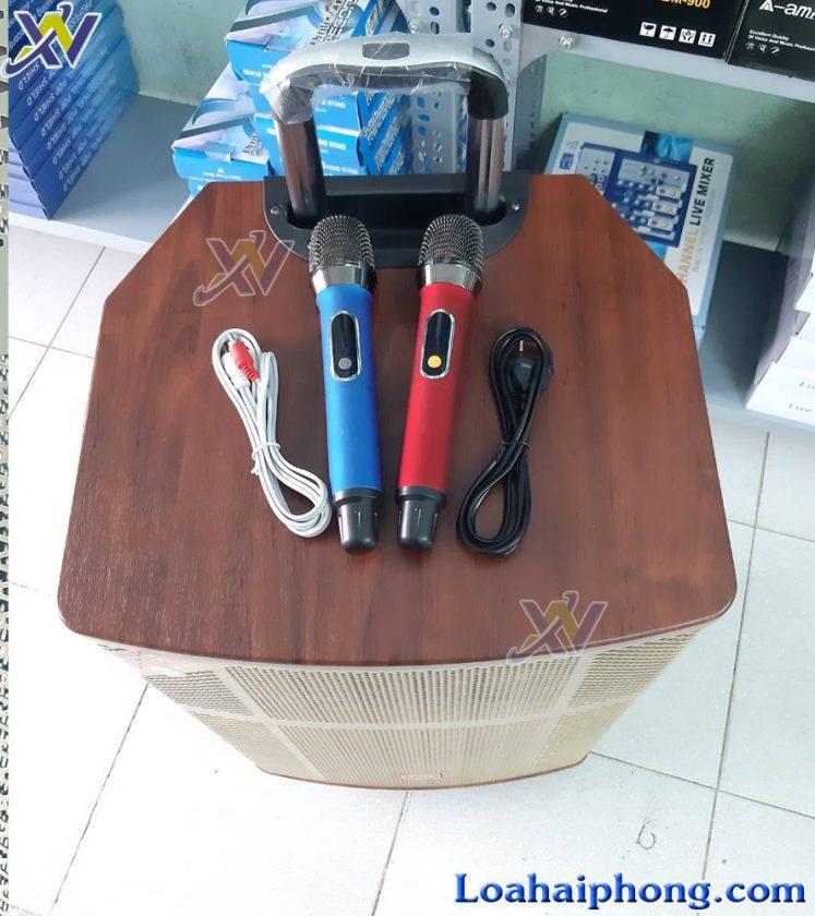 loa keo Sonaco SN 156V - mic không dây và phụ kiện loa
