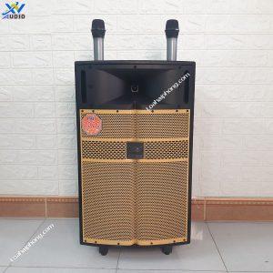 Loa kéo karaoke hlov f16 bass 40cm