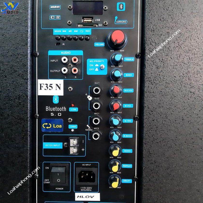 Bảng chỉnh âm thanh loa kéo F35