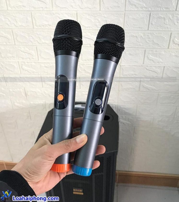 2 tay mic đi kèm loa kéo BN-1283