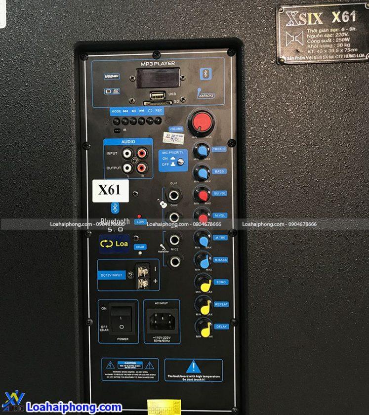Loa kéo Hlov X61 bảng mạch