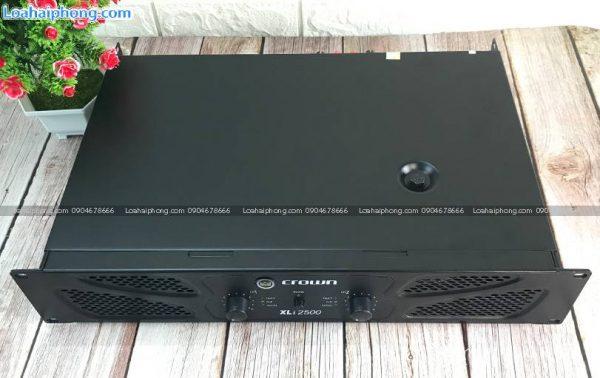 Cục đẩy Crown giá rẻ Xli-2500 hai kênh công xuất